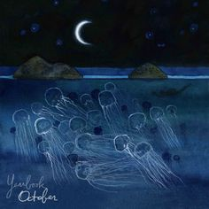 beautiful moon jellies Sleeping at last - Yearbook - October Sleeping At Last, Mystic Moon, Beautiful Moon, Music Film, Music Books, Before Us, Pretty Art, Puzzle Pieces, Painting Inspiration