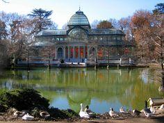 España-Madri-Parque del Buen  Retiro-Palacio de Cristal