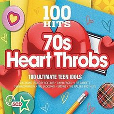 100 hits - 70s #heart #throbs - various artists - new #music cd,  View more on the LINK: http://www.zeppy.io/product/gb/2/222303489354/