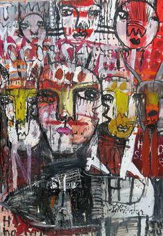 "Saatchi Art Artist Artt T W Pankow; Painting, ""The Holoschwein holoschwaenz holosystolikum"" #art"