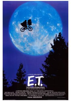 """E.T.  Bought a few VHS tapes from Goodwill last week. James picked this one out and has enjoyed watching it every day since!  He calls it the """"dark one"""" b/c the tape cover is dark.  """"Hey Mom, let's watch the dark one.""""  He says, """"He lost his friends, Mom.""""  """"He needs to find his friends."""""""