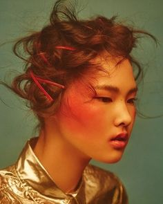 trendy fashion hairstyle for asian girl