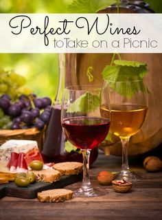 Perfect Wines to Take on a Picnic - The Frugal Navy Wife