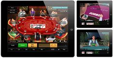 #poker New PKR 3D iPad Poker App