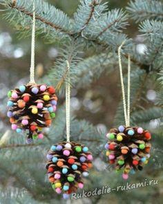 Christmas Crafts For Kids, Kids Crafts, Fruit, Lifehacks, Petra, House, Xmas, Fabric Flowers, Home