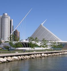 Milwaukee Art Museum, Milwaukee, Wisconsin  -  Travel Photos by Galen R Frysinger, Sheboygan, Wisconsin