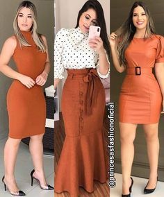 Pin by Dalida on Peinados in 2020 Girls Fashion Clothes, Girl Fashion, Fashion Dresses, Fashion Looks, Clothes For Women, Workwear Fashion, Denim Fashion, Fashion Vestidos, Lawyer Outfit