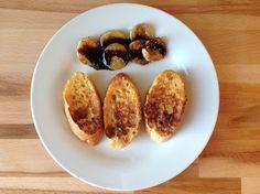 reCocinero: mini tostadas francesas con plátano