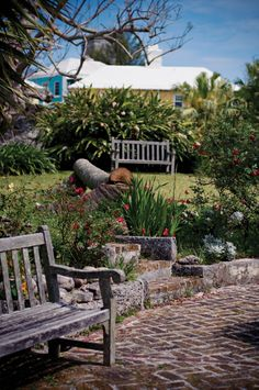 Bermuda garden in St. George's
