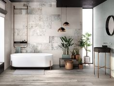 Crea, the new ceramic surfaces by Ariana at Cersaie