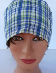 Adjustable Pixie Style Surgical Scrub Hat by bluebird053 on Etsy