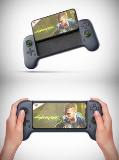 LUDI Transforms Your Smartphone Into a Nintendo Switch-Like Device New Technology Gadgets, Cool Technology, Electronics Gadgets, Tech Gadgets, Smartphone, Ps Wallpaper, Best Gaming Setup, Nintendo Switch Accessories, Cool Gadgets To Buy