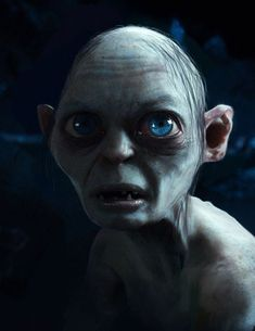 Gollum - The Hobbit - Adam Middleton Gollum Smeagol, Literary Characters, Fiction Film, Lee Pace Thranduil, Disney Fairies, Arte Horror, Katniss Everdeen, Middle Earth, Lord Of The Rings