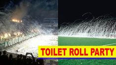 Soccer Fans :  Attractive  Toilet Paper Pitch