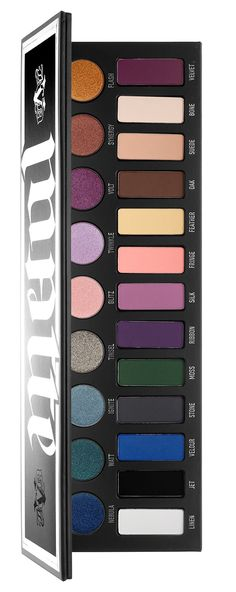 The Kat Von D MetalMatte Eyeshadow Palette ($60) is a new eyeshadow palette that's available for Holiday 2016 which includes a selection of metallic and ma