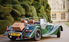 TAILGATING in style...in my MG and a stocked Windsor Hamper by Fortnum and Mason