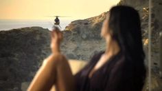 "Donna Feldman in Visa Black Card TV Commercial by Donna Feldman. Model/Actress Donna Feldman turns Bond for Visa Black Card's ""Back in Black"" Tv commercial/campaign"