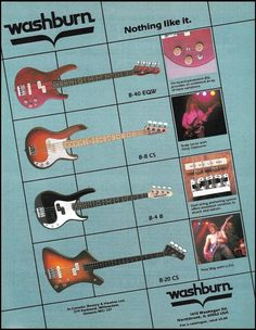 335 best washburn guitar advertisement ad print images in 2019