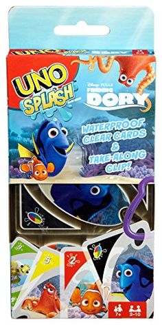 UNO Splash DisneyPixar Finding Dory Game >>> You can find out more details at the link of the image. Note:It is Affiliate Link to Amazon.