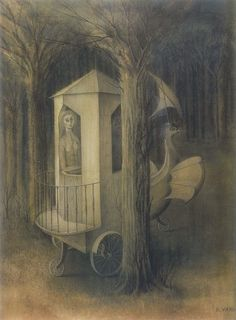 Catedral Vegetal by Remedios Varo