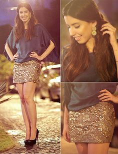 Glitter Skirt... Of course after I get my legs in shape to see the light of day!