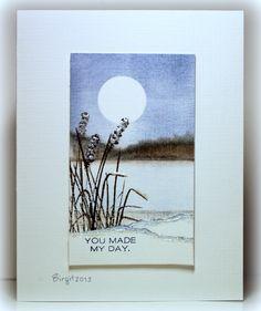 WT409 Snowflakes? Card by Birgit Edblom.