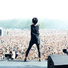 crowd and taka