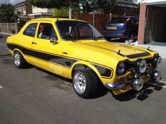 Escort Mk1, Ford Escort, Vintage Cars, Antique Cars, Ford Rs, Mk 1, Ford Classic Cars, Rally Car, Race Cars