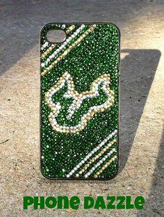 University of South Florida Rhinestone iPhone Case by PhoneDazzle, $45.00