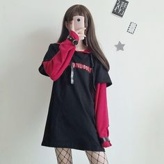 Harajuku fashion punk hoodie fleece Use copon code #cutekawaii for 10% off