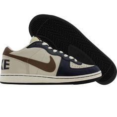 Nike Womens Terminator Low (birch / obsidian blue) 308863-221 - $59.99
