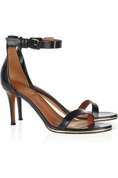 Givenchy Leather sandals NET-A-PORTER.COM