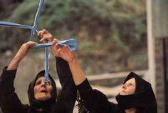 Maria Lai, 'Legarsi alla Montagna' , Ulassai, 1981