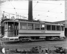 1909 Tramway no garage Hochelaga, Montreal Buses, Transportation, Garage, Around The Worlds, Canada, America, Cars, Photography, Train