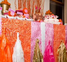 Modern Indian Inspired Engagement Party // Hostess with the Mostess® Bollywood Party, Bollywood Wedding, India Theme Party, Mehndi Cake, Indian Engagement, Adult Party Themes, Indian Party, Baby Shower Decorations, Event Planning