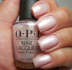 Opi Nail Polish Colors, Opi Gel Polish, Shellac Nail Art, Nail Polish Trends, Opi Nails, Opi Colors, Colours, Pale Nails, Blue And Silver Nails