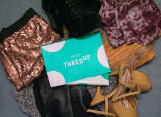 ThredUp, the secondhand store that looks like a new, mid-range clothing store with a price glitch. Stocking brands like Banana Republic,