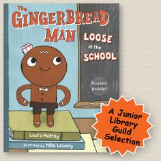 """This humorous take on the traditional tale will appeal to young children. In this version, the gingerbread man gets left behind by his class as they leave for recess and tries frantically to catch up with them: """"I'll run and I'll run, as fast as I can. I can catch them! I'm their Gingerbread Man!"""" You could use this book and the gingerbread man's misadventures as a precursor to taking your class on a tour of your school or school neighborhood."""