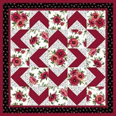 LOVE this pattern! Easy for beginners too! Walk About Quilt Pattern                                                                                                                                                      More