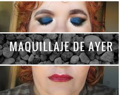 Maquillaje de ayer. Con sombra en crema de h&m y lip tint de Etude house. #beauty#cosmetics#pretty#cute#blue#eyes#eyerliner#lips#liptint#face#makeup