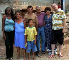 em casa de Elenir & Nozinho com Moasir, Eliane & Ronald   2004