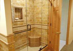 spa bathroom remodels | Bathroom Remodel - Custom Shower
