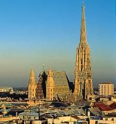 Though I've been to Austria, I've never been to Vienna. If I went there, of course, St. Stephen's Cathedral would be the first place I'd want to visit.