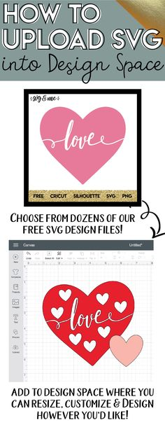 Yes! An easy to follow step-by-step Cricut tutorial on how to upload files to Cricut Design Space! Only takes me 5 seconds now. Plus, you can get amazing free svg files from the site to use in your designs!! #cricut #svg #videotutorial