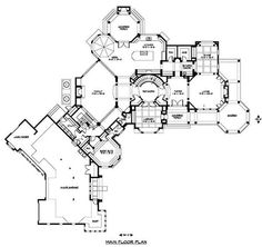 Big house layouts