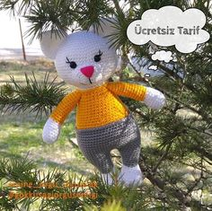 Handmade Toys For Boys How To Make - Handmade Crochet Patterns Amigurumi, Amigurumi Doll, Crochet Toys, Crochet Baby, Free Crochet, Amigurumi For Beginners, Diy Crafts To Do, Afghan Patterns, Stuffed Toys Patterns
