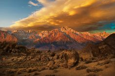 The Sierras by Robert Dawson - Winning images from the 2015 photo contest landscape category.