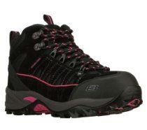 Skechers Work Rambler Climb Womens Steel Toe Hiking Ankle Boots