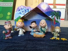 Hallmark Peanuts Gallery Pageant Nativity Charlie Brown Snoopy Xmas Scene Set | eBay