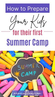 These tips and tricks will help your kid adjust to their first summer camp in no time. These summer camp tips are great for kids of all ages. Use these ideas as your guide to summer camp success! Summer fun and summer activities for kids who are experiencing summer camp for the first time. #VBS #SummerCamp #SummerActivities #SummerFun #Parenting #ParentingTips #MamaintheNow Summer Camps For Kids, One Summer, Summer Activities For Kids, Happy Summer, Summer Kids, Games For Kids, Happy Teens, Happy Parents, Parenting Teens